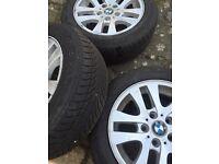 BMW ALLOYS & RUN FLAT TYRES
