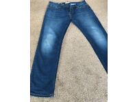 3 pairs of mens Next slim jeans 34S