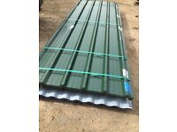Corrugated, box profile sheets and flashing. Various lengths and colours
