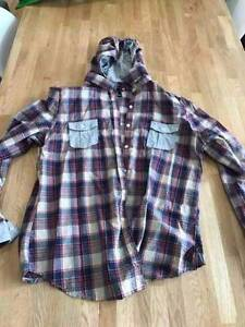 Ladies Hooded Check Shirt Ryde Ryde Area Preview