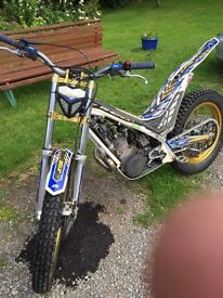 Sherco 125 2012 trials bike