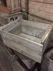 ★★★ Wooden Apple Crates Antique★We Have Dozens To Choose From★★★