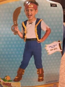 Toddlers Jake and the neverland pirates costume