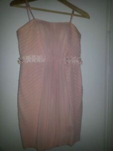 BCBG Strapless Cocktail Dress and Matching Necklace
