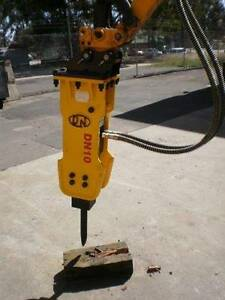 Korean Hydraulic Rock Breaker to suit up to 1.8-ton Excavators North St Marys Penrith Area Preview