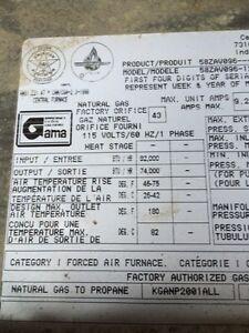 Carrier energy efficient Furnace for sale