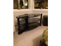 Glass TV stand /unit perfect condition need gone ASAP