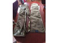 Aqua 5 rod quiver and 3/4 rod sleeves