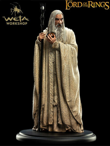 Weta Collectibles The Lord of the Rings Saruman the White Mini Statue Brand New