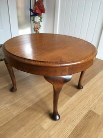 1950's oak coffee table