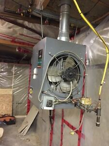 ICP gas unit heater or garage heater