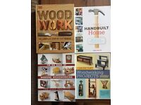 Woodwork books (x4)