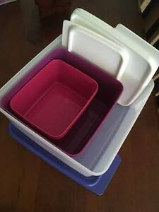 Tupperware Keep Tabs container set Willagee Melville Area Preview