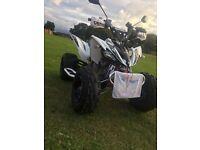 Yamaha 250cc raptor 2010 mod road legal