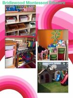 FT Spot Available in Bridlewood Montessori Dayhome