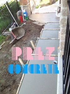 BOOK NOW! METICULOUS QUALITY CONCRETE DRIVEWAYS+PATIOS+SIDEWALKS Kitchener / Waterloo Kitchener Area image 7