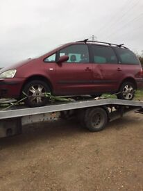 We buy all unwanted scrap cars vans 4x4's for cash