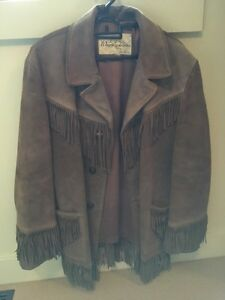Genuine Buckskin Winnipeg Leather Jacket