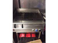 Falcon grill three burner