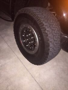 Stock 2014 Ford Raptor Rims and Tires
