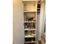 7ft Off White cupboard