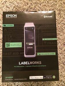 Epson Label Maker Regina Regina Area image 1