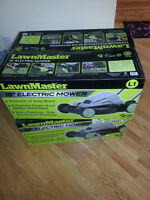 "Brand new 18"" Electric Lawnmower for sale."