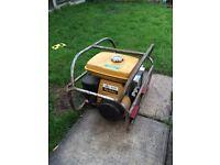 Robin ey petrol site generator working order 110v 240v
