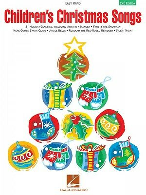 Children's Christmas Songs Sheet Music Easy Piano Songbook NEW 000222547