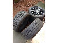 4x108 alloys with good tyres