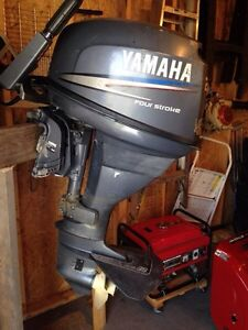 Trade outboard for a aluminum boat and motor