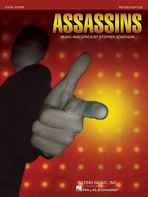 Stephen Sondheim Assassins Revised Edition - Vocal Score Vocal Score B 000313453