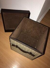 Solid Square Storage Box