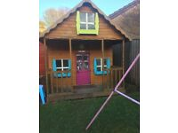 Childs large 3 storey playhouse