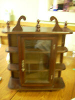 little display cabinet asking 15