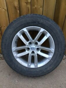 2014 Factory Kia Sorrento Rims/Tires fit 07-16 Sorrento/Santa Fe