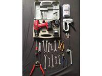 Job lot tools & cordless drill