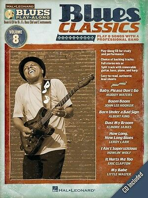 Blues Classics Sheet Music Blues Play Along Book And Cd New 000843177