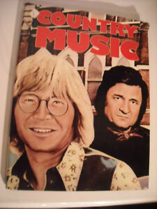 Country Music Hard Cover Book  by Bryan Chalker