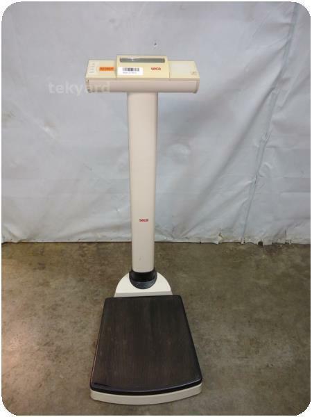 SECA 703 DIGITAL STAND-ON SCALE ! (217615)