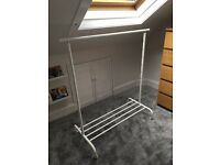 IKEA Rigga clothes rack - white