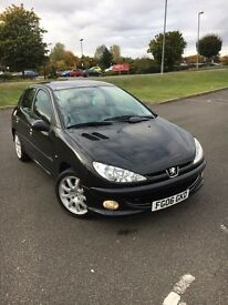 Peugeot-206-2006-1.4-petrol-5dr-Excellent-condition