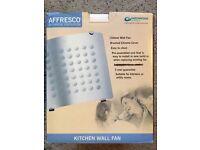 Alfresco kitchen or bathroom fan