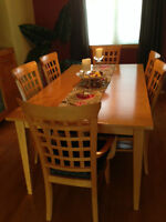 Maple Dining Room Suite and Sideboard