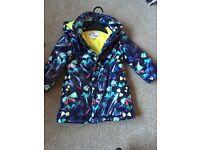 Girls M&S raincoat size 18-24 months