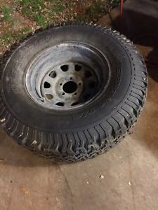 BF Goodrich T/A KO complete rims and tires