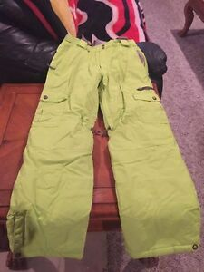 Bright Green Firefly Snowpants Youth Large (Unisex)