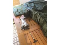 Fishing Bivvy , with carry bag , pegs