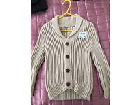 Marks & Spencer stone colour cardigan 3-4yrs
