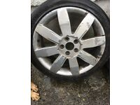 Renault Megane sport alloy wheels